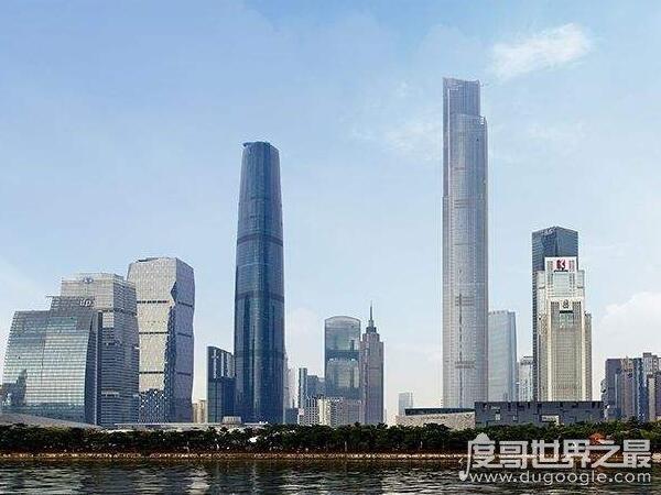 广州最高楼,第一建筑小蛮腰塔600米(广州十大高楼排名)