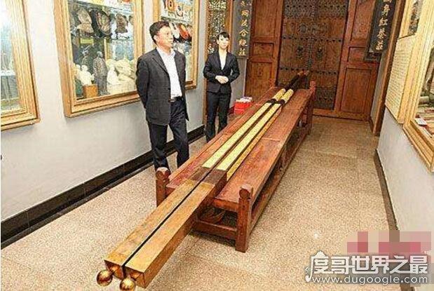 世界上最长的筷子:6.295米(最贵的Gucci筷子6282元)