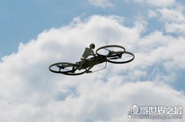 中国首辆会飞的摩托车,三轮电动飞行摩托车(堵车将成历史)