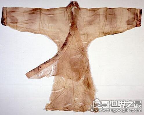 世界上最轻的衣服,仅重48克的素纱襌衣能装进火柴盒