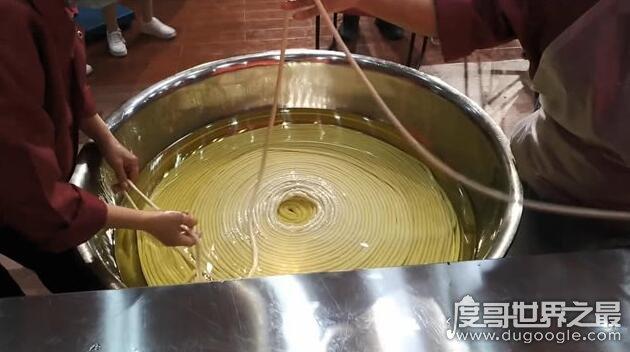 世界上最长的面条:3084米河南诞生(是上海中心大厦的5倍)
